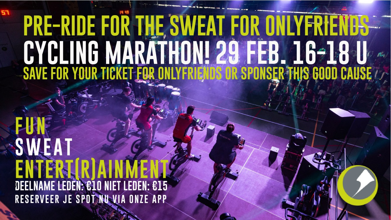 Cycling event 29feb Fresh Fitness