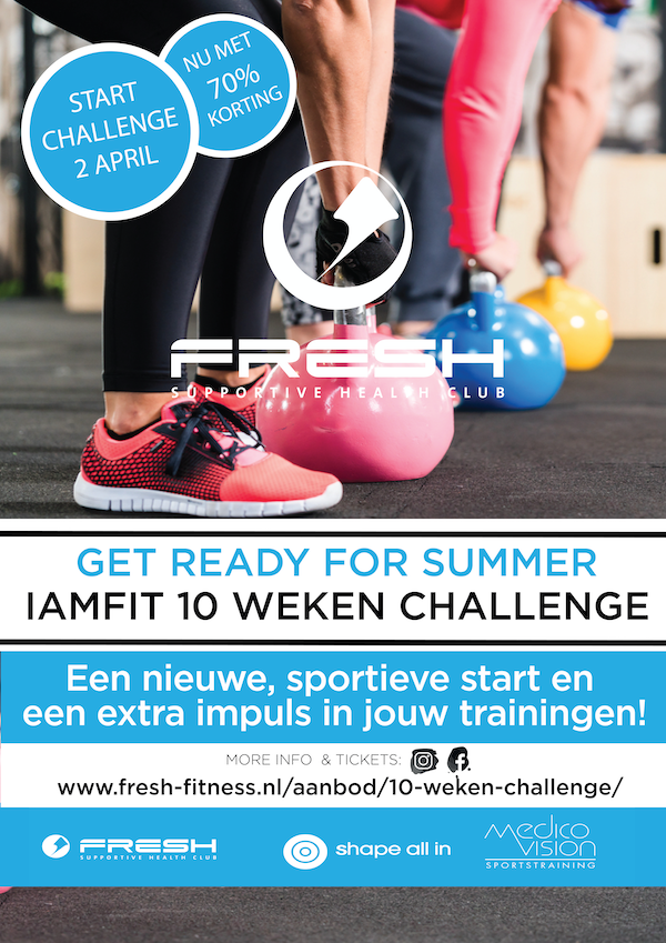 10 weken challenge Fresh Summer 2020