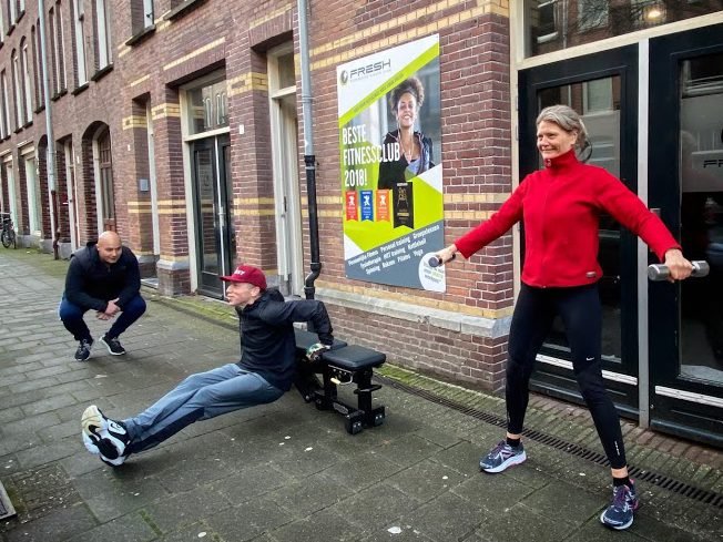 Outdoor Personal training Amsterdam